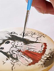 cheap -10pcs Cake Brush Decorating Pen Sugar Craft Tool Chocolate Brush Cake Decorating Tools
