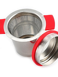 Недорогие -Нержавеющая сталь Чайный 1шт Фильтры