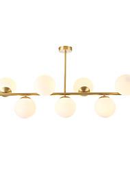 cheap -CXYlight 7-Light 35 cm Pendant Light Copper Glass Island Modern / Nordic Style Generic