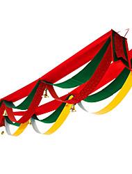 Недорогие -Праздничные украшения Украшения для Хэллоуина Вытащить флаг Декоративная Красный 1шт