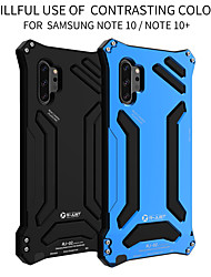 cheap -Case For Samsung Galaxy S9 / S9 Plus / Note 9 Shockproof Back Cover Solid Colored Aluminium
