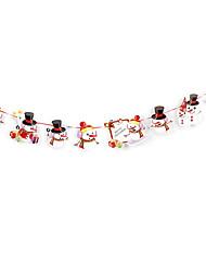 Недорогие -Праздничные украшения Украшения для Хэллоуина Вытащить флаг Декоративная Белый 1шт
