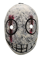 cheap -Mask Halloween Props Halloween Mask Inspired by Usagi / Rabbit Scary Movie red with white Orange Masks Halloween Halloween Men's Women's