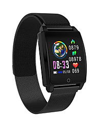 cheap -AK18 Smart Band Heart Rate Blood Pressure IP67 Waterproof Fitness Wristband Call Reminder Support for iOS Android
