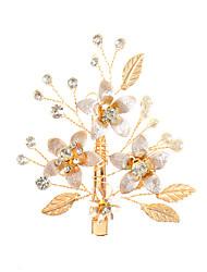 cheap -Rhinestone / Alloy Headdress / Hair Clip with Crystals / Rhinestones 1 Piece Wedding / Special Occasion Headpiece