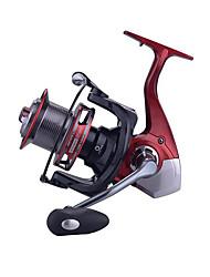 cheap -Fishing Reel Spinning Reel / Trolling Reel 4.1:1 Gear Ratio+13 Ball Bearings Hand Orientation Exchangable Sea Fishing / Spinning / Jigging Fishing - TP8000 / Freshwater Fishing / Bass Fishing