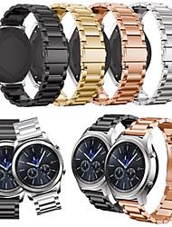Недорогие -ремешок для часов для s3 classic samsung galaxy ювелирный дизайн браслет из нержавеющей стали