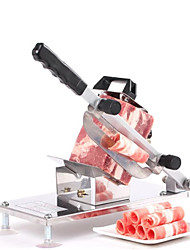 cheap -Manual Frozen Food Meat Slicer Beef Mutton Sheet Roll Cleavers Cutter Adjustable Vegetable Fruit Rice Cake Cutter