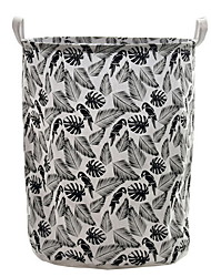 Недорогие -большая корзина для белья, водонепроницаемая круглая корзина для хранения хлопкового белья, складная корзина для хранения