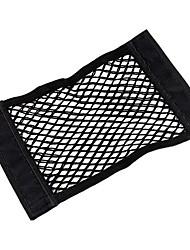 cheap -Car Velcro Double Layer Net Bag Trunk Storage Bag