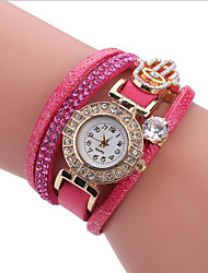 cheap -Women's Wrap Bracelet Watch Quartz Leather New Design Casual Watch Analog Casual