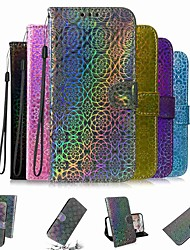 cheap -Case For Apple iPhone 11 / iPhone 11 Pro / iPhone 11 Pro Max Wallet / Card Holder / with Stand Full Body Cases Solid Colored PU Leather / TPU for iPhone X / XS / XR / Xs Max / 8 / 8 Plus / 6s / 6 Plus
