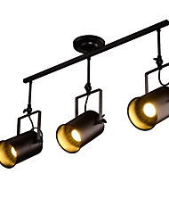 cheap -Vintage Industrial Track Lights Black Painted Metal Spot Light for Dining   Office Shops Room Warm White / Cold White Light