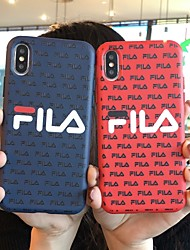 cheap -Case For Apple iPhone 11 / iPhone 11 Pro / iPhone 11 Pro Max Frosted / Embossed / Pattern Back Cover Word / Phrase TPU
