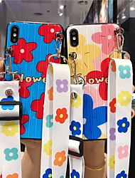 cheap -Case For Apple iPhone 11 / iPhone 11 Pro / iPhone 11 Pro Max Pattern Back Cover Flower Acrylic
