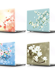 cheap -MacBook Case Flower PVC for 11/12/13/14/15 inch  for MacBook Air 13-inch / New MacBook Pro 13-inch / New MacBook Air 13 2018