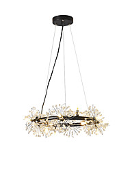 cheap -15-Light 52 cm Creative Chandelier Metal Industrial Novelty Painted Finishes Country Nordic Style 110-120V 220-240V