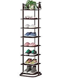 Недорогие -Стойка для хранения обуви entryway, современный 7-уровневый органайзер для обуви, многофункциональная коробка для обуви, полка для хранения