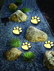 cheap -Outdoor Lawn Lights LED Street Light Waterproof 4W Garden Light Outdoor Lighting Solar Warm White RGB White 5V 4 LED Beads