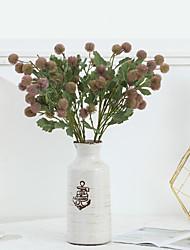 cheap -Simulation Fruit Small Hydrangea Single Branch Pine Cone Ball Home Decoration Fake Plant