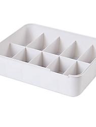 cheap -Plastic Underwear Storage Box Underwear Box Division Box Socks Underwear Storage, Adjustable Drawer Organizers with Customizable Dividers in Stackable Durable Plastic for Underwear Crafts