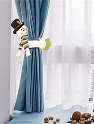 cheap -Christmas Curtain Buckle Holder Clip Buckle Tieback Decorations Room Living Santa Snowman Elk Creative Curtain Buckle