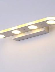 cheap -LED Mirror Lamp 38cm 20W 4-Lights Bathroom Lighting Painted White Iron Vanity Light Wall Light IP44 Generic Downlight SMD5050