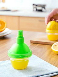cheap -2 in 1 Lemon Orange Juice Extractor with Sprayer Mist Fruit Container Kitchen Tools