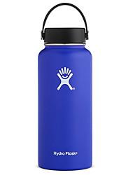 cheap -Flask Standard Mouth Water Bottle, Flex Cap - Multiple Colors