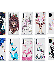 cheap -Case For Apple iPhone 11 / iPhone 11 Pro / iPhone 11 Pro Max Shockproof / Pattern Back Cover Butterfly TPU