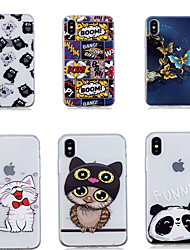 cheap -Case For Apple iPhone XS / iPhone XR / iPhone XS Max Shockproof / Pattern Full Body Cases Butterfly TPU