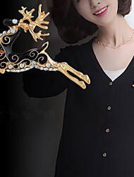 cheap -Women's Brooches Brooch Jewelry Gold Silver For Christmas