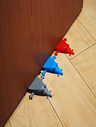abordables -1pc bébé portes de sécurité en silicone souris forme amélioration de la maison porte arrêt matériel cadeau de noël creative porte bouchons