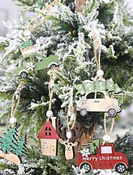 Недорогие -праздничные украшения новогодние рождественские украшения партия / декоративные 6шт