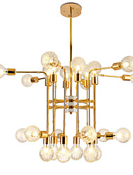 cheap -24 Bulbs 24 Lights Luxury Gold Chandelier Candle-style European Modern Lights for Living Room Dinning Room Shops Caffe LED G9 Bulbs Not Included