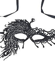 cheap -Lace Mask Halloween Props Inspired by Ghost Black Masks Halloween Halloween Men's Women's