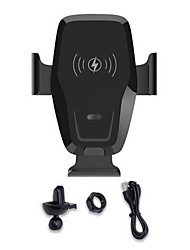 cheap -K88 Infrared Induction Car Wireless Charging 10W Fast Charging Outlet Bracket Car Car Charger Mount Auto Clamping Gravity Sensor