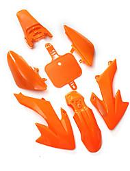 cheap -Fender-Fairing Kit Orange For Honda CRF XR 50 CRF50 125 SSR SDG 107 Pit Bike