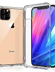 Недорогие -iphone 11 11 про 11 про макс тпу мягкий чехол задняя крышка протектор прозрачный х / х с / хр / хс макс / 7 8 плюс
