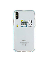 cheap -Case For Apple iPhone 11 / iPhone 11 Pro / iPhone 11 Pro Max Ultra-thin / Transparent Back Cover Transparent / Cartoon TPU
