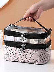 cheap -Travel Luggage Organizer / Packing Organizer / Totes & Cosmetic Bags / Cosmetic Bag Multifunctional / Large Capacity / Waterproof Simple Nail Remover / Hand Cream / Hand Lotion PU Leather / Portable