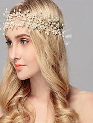 cheap -Pearl / Alloy Headbands with Pearl 1 Piece Wedding Headpiece