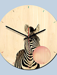Недорогие -m.sparkling деревянные настенные часы современный дизайн мультфильм гостиная украшения 3d специальный подарок кухня настенные часы