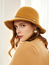 cheap -Wool / Acrylic Hats with Metal Chain 1pc Casual / Daily Wear Headpiece