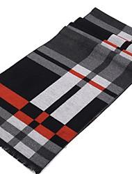 cheap -Men's Basic Rectangle Scarf - Print