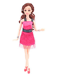 cheap -Doll Dress Doll Outfit Casual For Barbiedoll Polyester Dress / Bag For Girl's Doll Toy