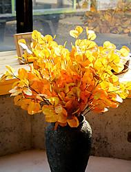 Недорогие -имитация завода 3d печать эвкалипт лист деньги лист искусственный цветок