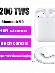 cheap -LITBest i200 TWS True Wireless Earbuds Wireless Bluetooth 5.0 Noise-Cancelling Stereo with Microphone Earbud