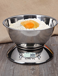 cheap -5kg*1g High Definition Auto Off LCD Display Electronic Kitchen Scale Home life Kitchen daily