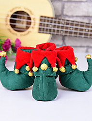 Недорогие -Собаки Ботинки и сапоги Рождество Праздник Мода Для домашних животных Ткань Камуфляж цвета